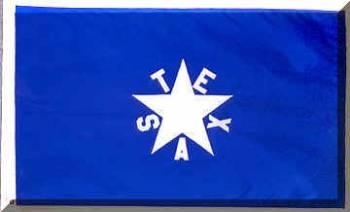 De Zavales First Republic Of Texas Flag 3 X 5 In Texas