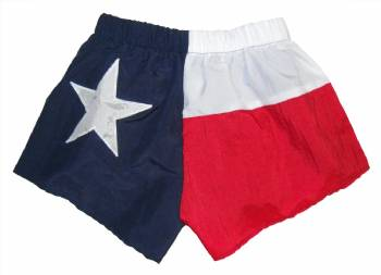 Texas Flag Adult Low Rise Shorts