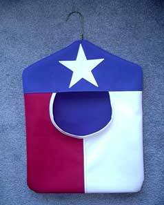 Texas Clothespin Bag