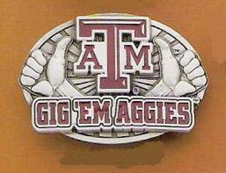 Texas A & M Belt buckle
