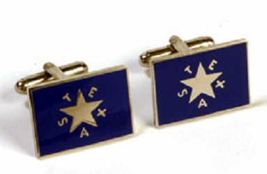 Cuff Links First Republic Flag of Texas