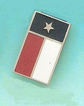 Money Clip with a Texas Flag