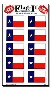 Texas Flag Sticker Pack