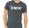 Gray Texas Home T-Shirt
