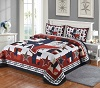 Texas Quilt and 2 Pillow Sham Set