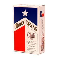 Truly Texas Chili Mix