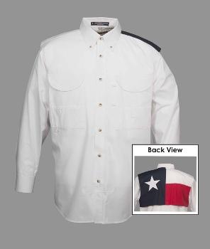 Texas Flag Long Sleeve Fishing Shirt In Shirts Stxop