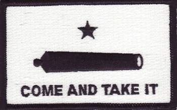 Gonzales Flag Patch