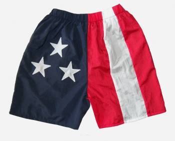 American Flag Youth Walking Shorts