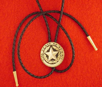 State of Texas Round Bolo