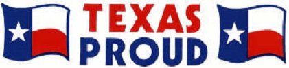 Texas Proud Bumper Sticker
