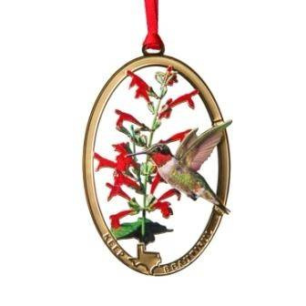 keep texas beautiful christmas ornament 11th edition