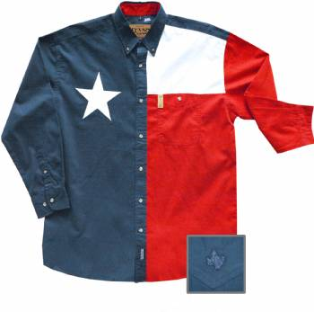 Texas Flag Men S Dress Shirt In Dress Shirts Stxop