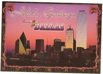 Holiday Greetings from Dallas