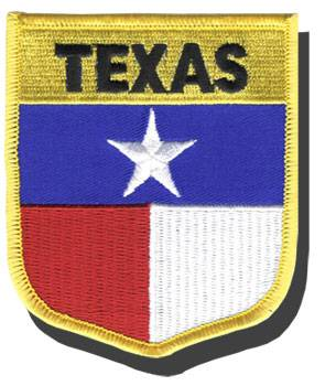 Texas Shield Patch